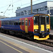 cambs - east midland trains 153311 in peterborough 10-11-17 JL