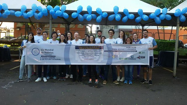 Dia Mundial do Diabetes - Regional SBEM-PR