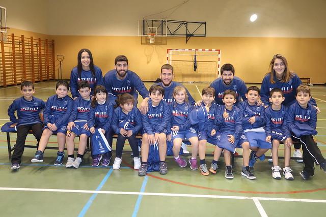 CANTERA | Visita de Guerra, Servera y Botejara al Babybasket
