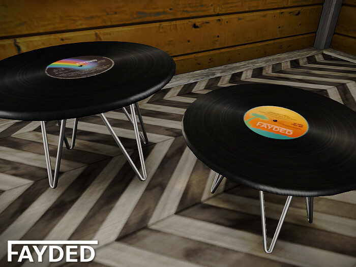 FAYDED - Record Tables - TeleportHub.com Live!