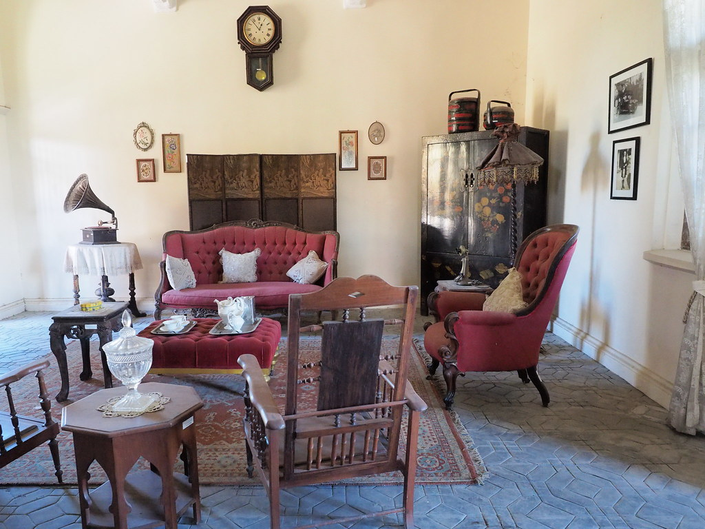 A living room in Kellie's Castle