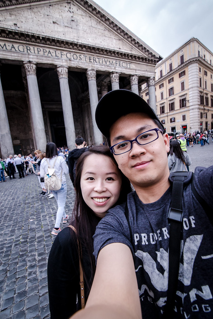 Rome – Pantheon & Trevi Fountain