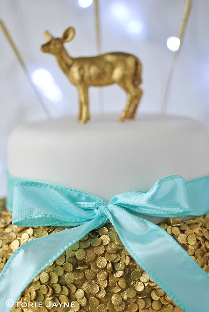 Sequin Christmas Cake 4
