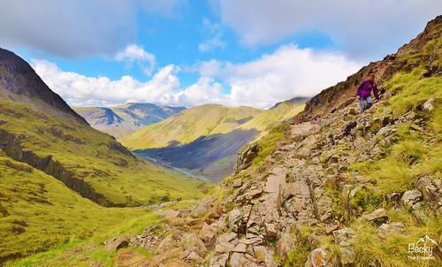 Scafell Pike walk Lake District
