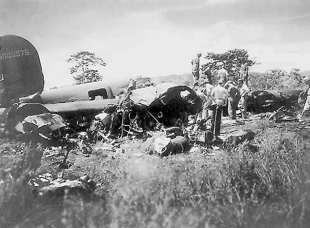 408th Squadron B-24 crash