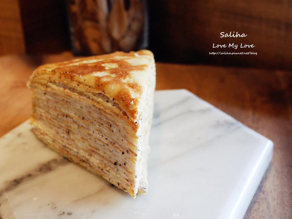 大安森林公園站附近咖啡館來吧cafe千層蛋糕 (1)