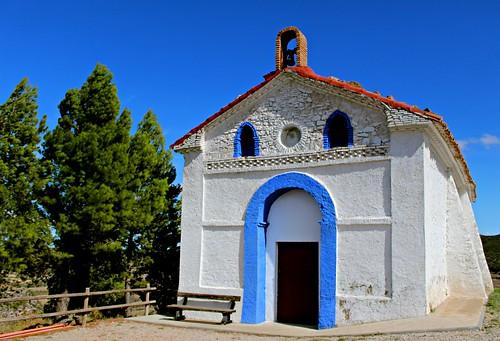 Ermita Vírgen de las Nieves en Aladrén