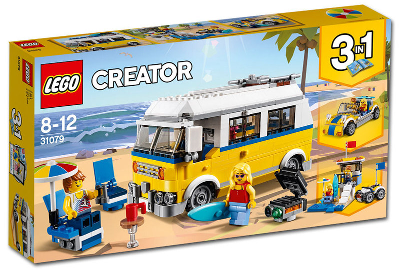 Sunshine Surfer Van (31079)