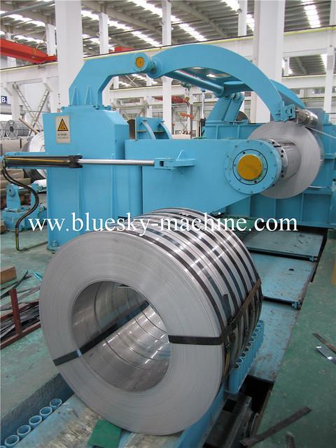 steel coil rewinder slitter