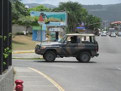 Jamaica Defence Force Toyota Land Cruiser