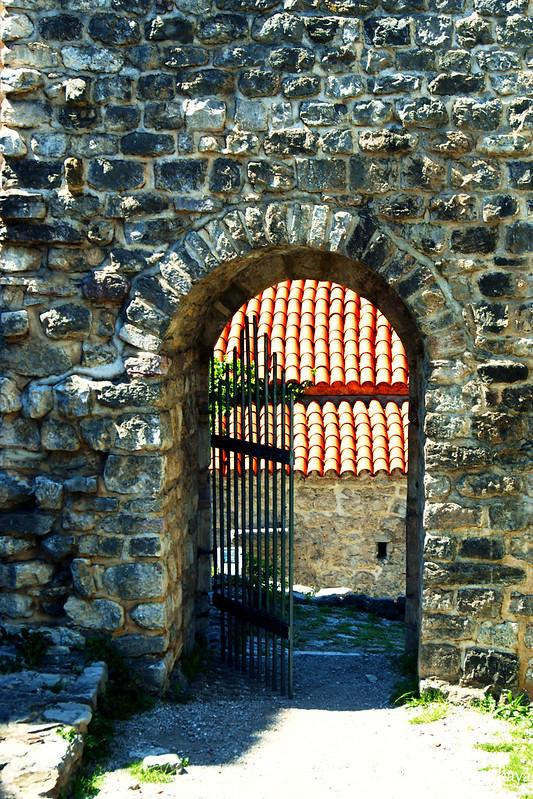 Вход в Цитадель, вид изнутри