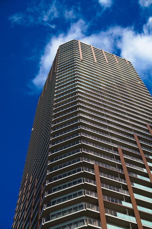 Blue sky & building