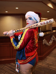 Suicide Squad Harley - Christmas style