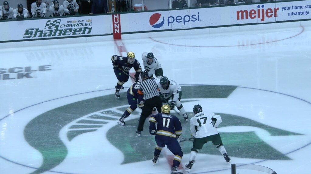 Spartans Lost to No.4 Notre Dame in Series Opener, 3-1