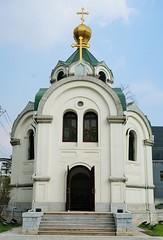 Russisch Orthodoxe Kerk aan Tianjin Road