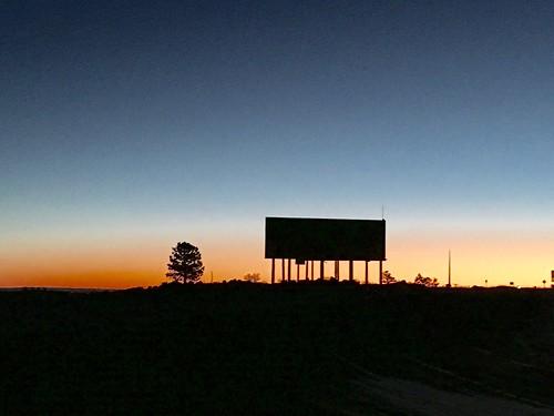Dawn, Interstate 80 near Laramie, Wyoming