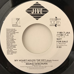 MARIA VENCHURA:MY HEART HOLDS THE KEY(LABEL SIDE-A)