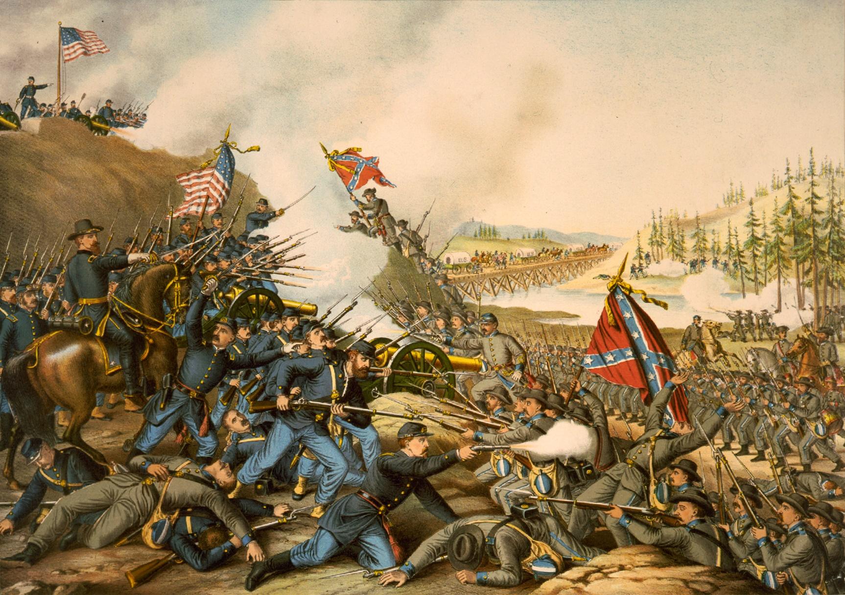 The Battle of Franklin, November 30, 1864.