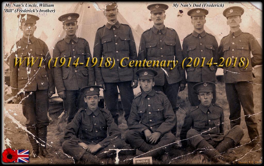 WW1 (1914-1918) Centenary (2014-2018) My relatives.. 24471542738_b1b7e4e2d5_o