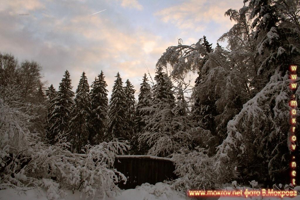 Зима в коттедже