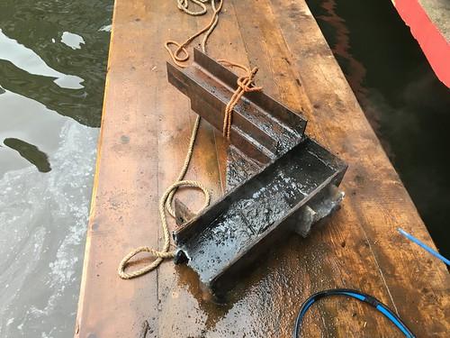 Brand werkzaamheden op de waterlijn
