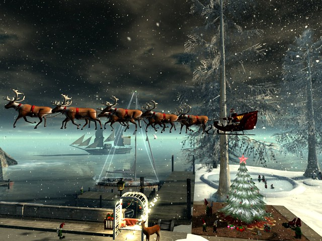 Love Story: Season of Joy - Sleighed Over the Port