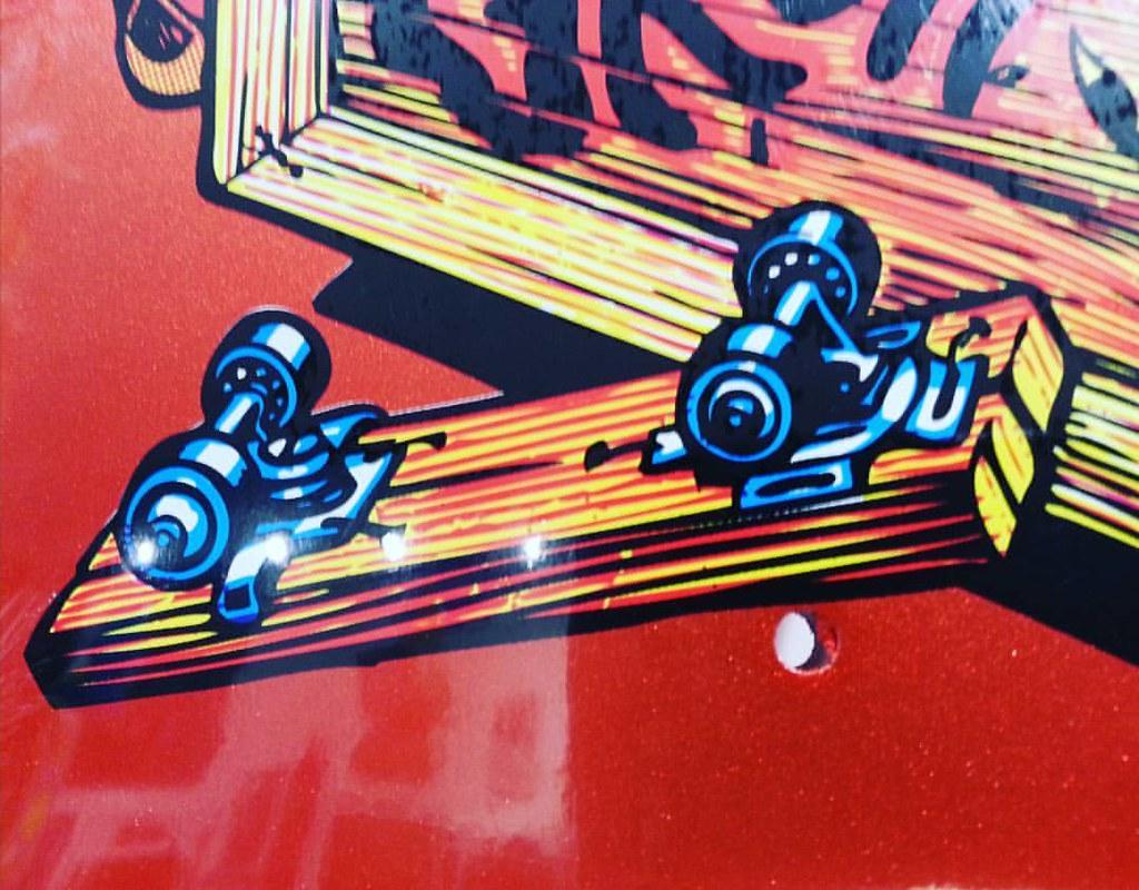 Jeff Grosso Toybox reissue from Santa Cruz. #santacruzskateboards #jeffgrosso #skateboardreissues #skateboardcollectors