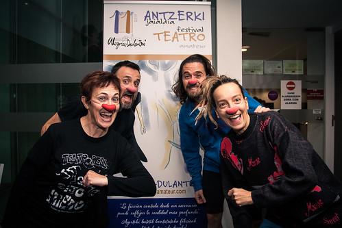 Festival de Teatro Amateur de Alegría-Dulantzi 2017. Teatropello