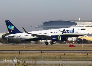 F-WWBH A320 NEO AZUL