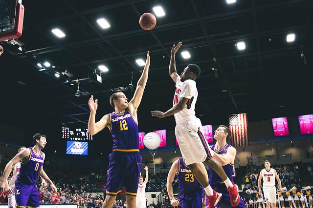 Men's basketball falls to Lipscomb 2017
