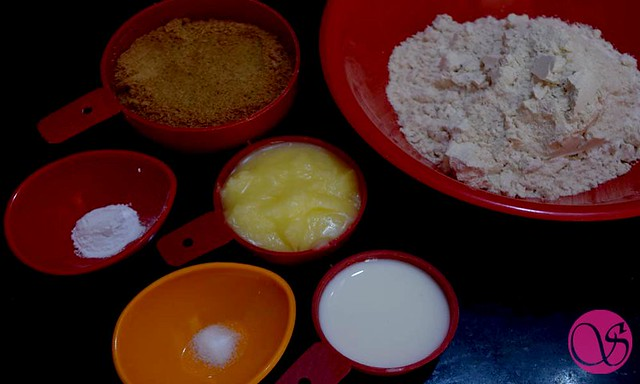Homemade Atta Biscuits Ingredients
