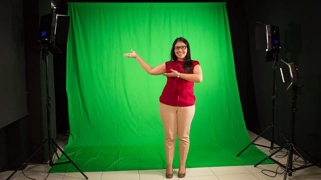 Estudio de grabación de MOOCs Universidad Panamericana