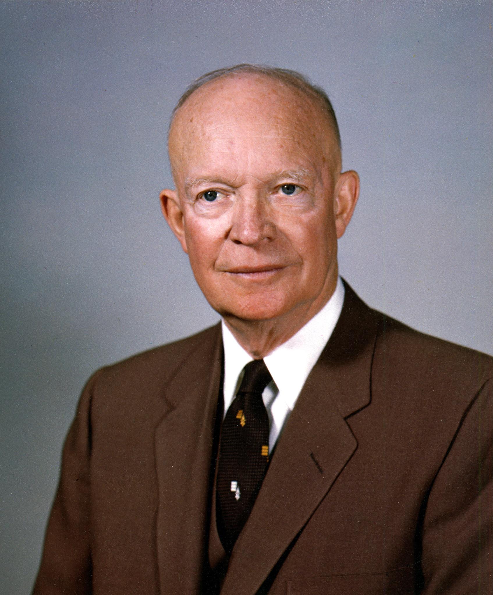 Dwight D. Eisenhower. White House portrait, February 1959