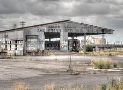 Decaying Train Yard Melbourne
