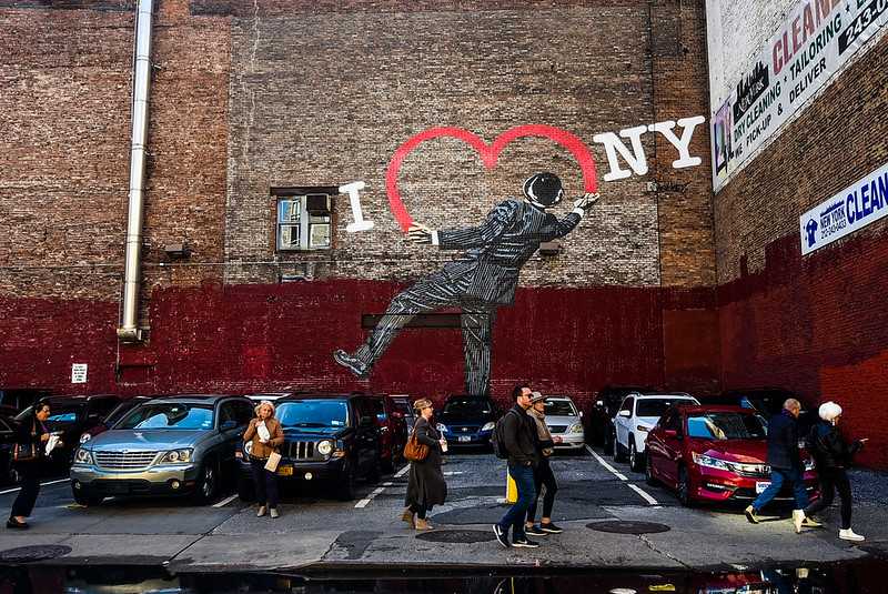 Walk In New York - NYC 2017 - Nick Walker - I love NY 01