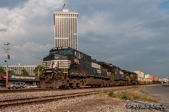 NS 9633 | GE C40-9W | NS Memphis District