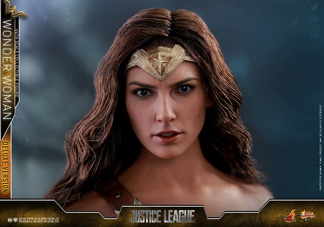 Hot Toys - MMS451 -《正義聯盟》神力女超人 豪華版 Justice League Wonder Woman Deluxe Version 1/6 比例可動人偶作品