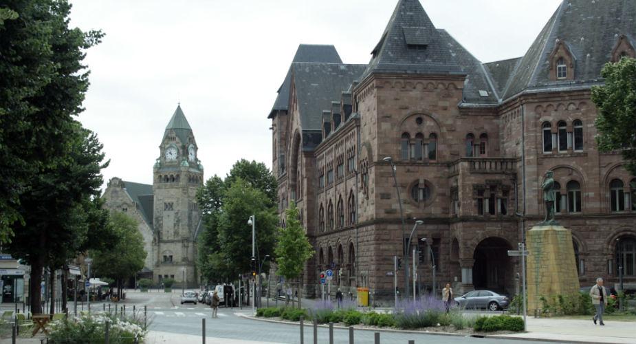 Musea in Metz, bijzonder kunst kijken: Station Metz-Ville | Mooistestedentrips.nl