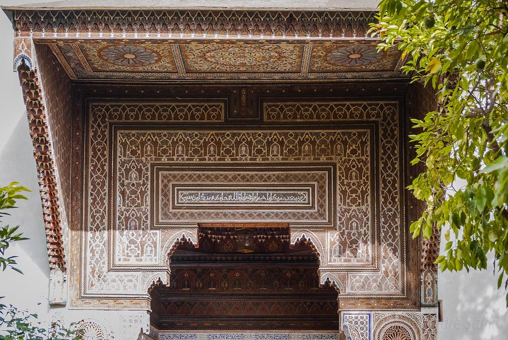 Дворец Бахиа Марокко Марракеш