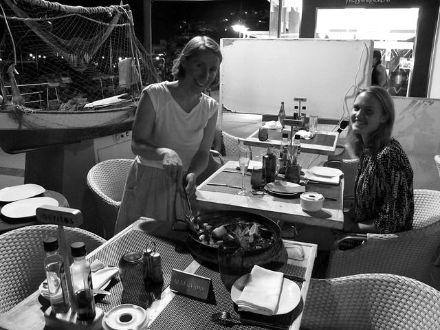 friday, paella in puerto de mogán, gran canaria