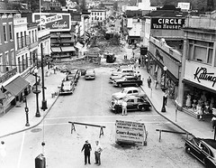1950 Repaving Downtown Peekskill