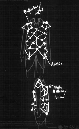 Daniela's design sketch