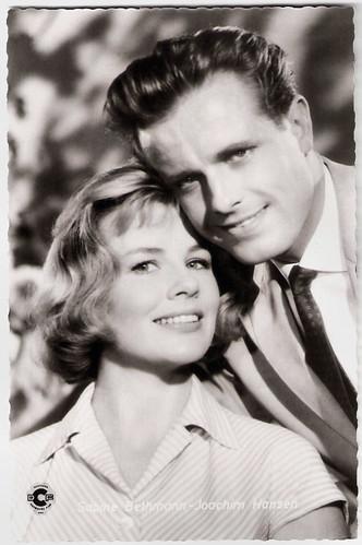Sabine Bethmann and Joachim Hansen in Morgen wirst du um mich weinen (1959)