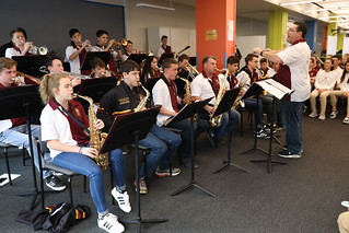 St. Peters College Band Performance at Maryknoll