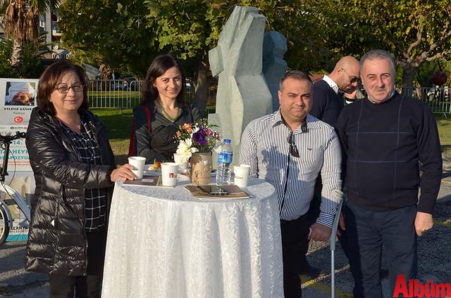 Alanya Müze Müdürü Seher Türkmen, Betül Turan, Münir Altıoğlu, Ali Köktan