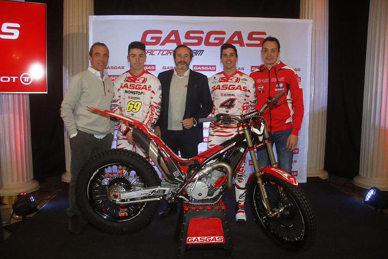 Presentación Gas Gas Factory Trial Team 2018 en Bilbao