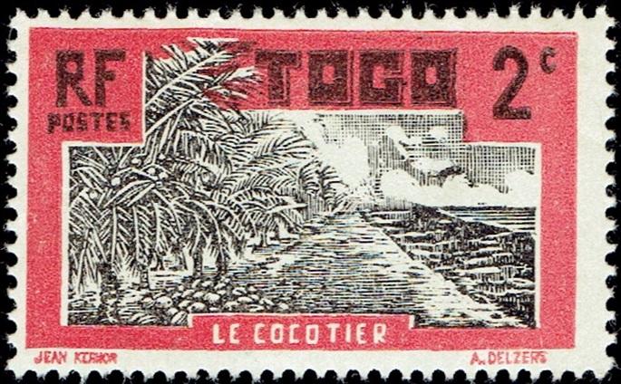 Togo (French Mandate) - Scott #217 (1924)