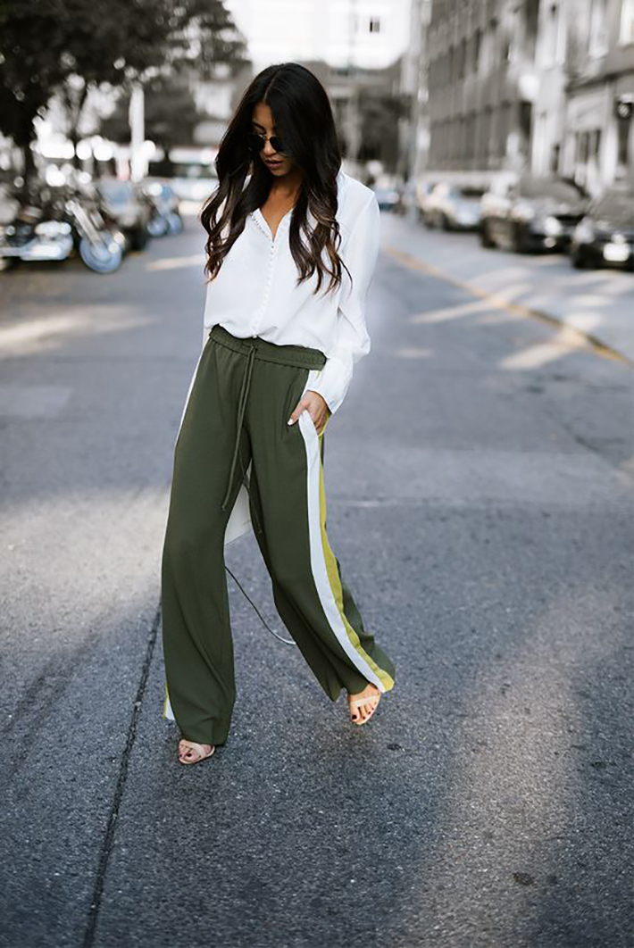 track pants autumn outfits street style inspiration trend style outfit 2017 accessories denim inspo4