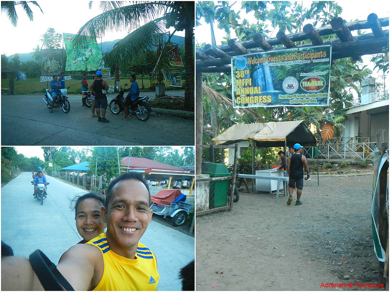 Habal-habal ride to Barangay Tuno