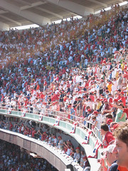 Upper deck crowds